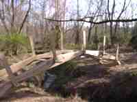 27 ft. wood bridge