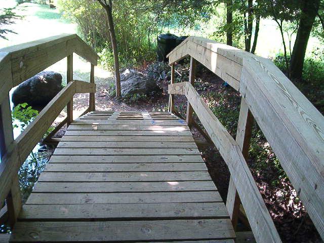 Wood Bridge Plans