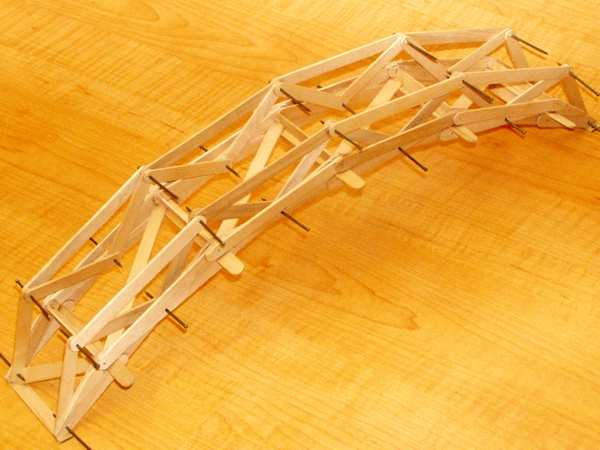 Popsicle Stick Bridge Pictures And Plans A Versatile And Scaleable